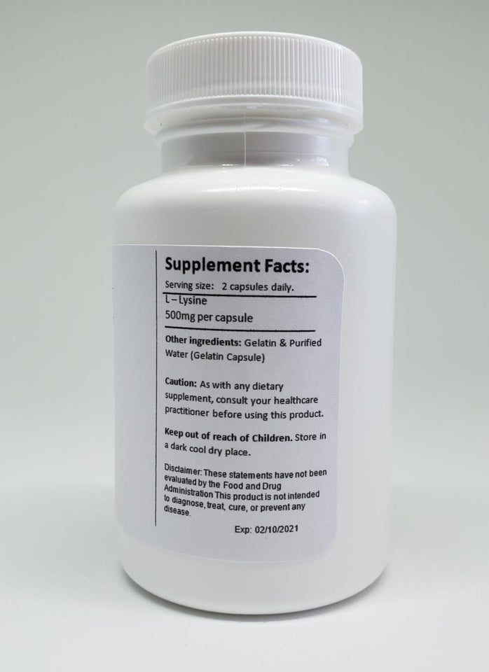 Lysine Supplement (HPV)