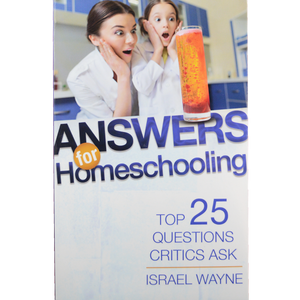 Answers for Homeschooling book front cover