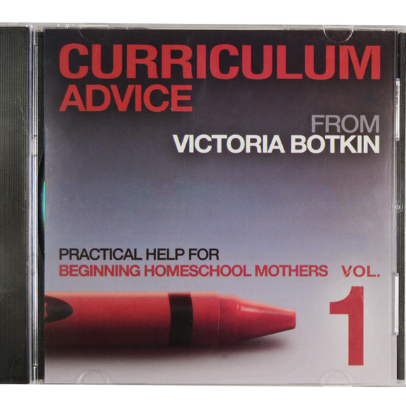 Curriculum Advice 1 by Victoria Botkin