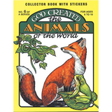 God Created the Animals of the World - Colouring Book