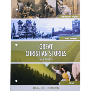 Great Christian Stories for Children Workbook