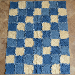 Small Quilt - Blue Wave