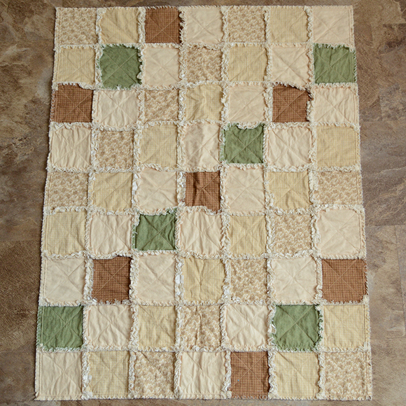 Small Quilt - Soft Creams