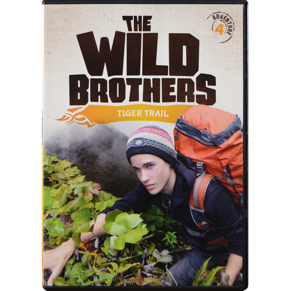 Wild Brothers #4: Tiger Trail DVD
