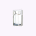 Briquet réutilisable transparent