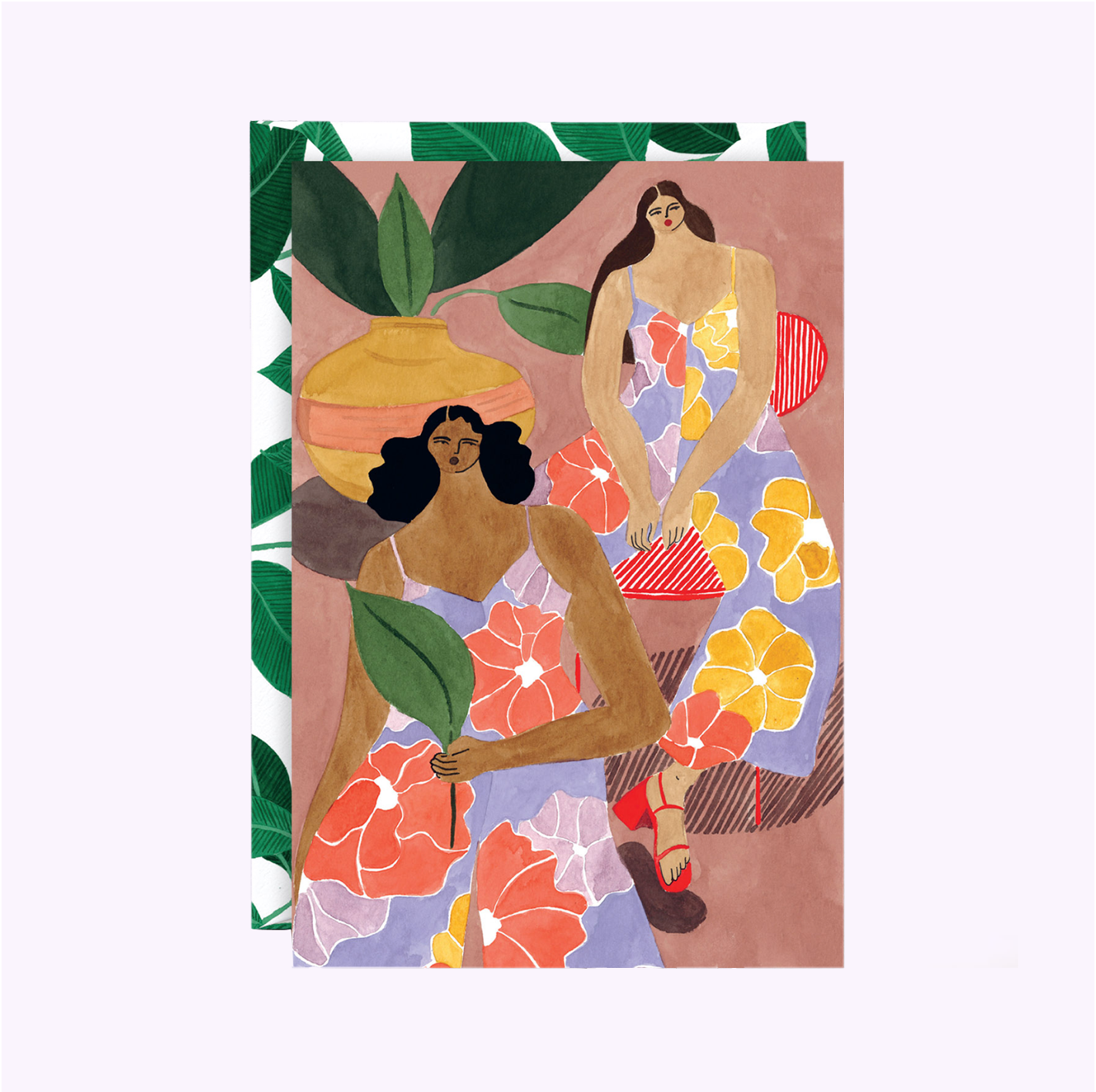 "Carte ""Floral Girls"""