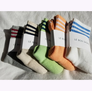 "Chaussettes ""Girlfriend - Avoine"""