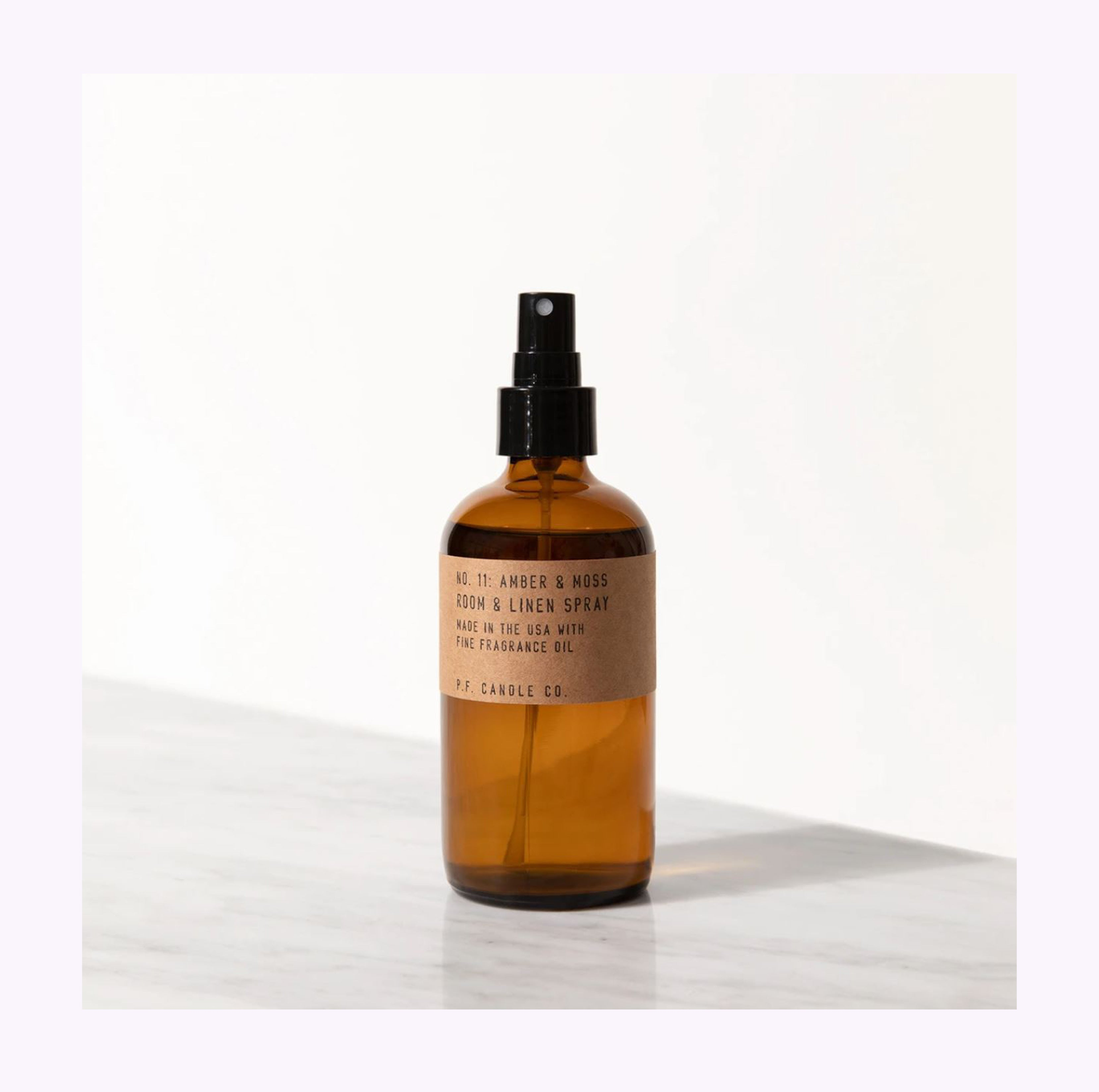 "Spray d'ambiance ""Amber & Moss"""