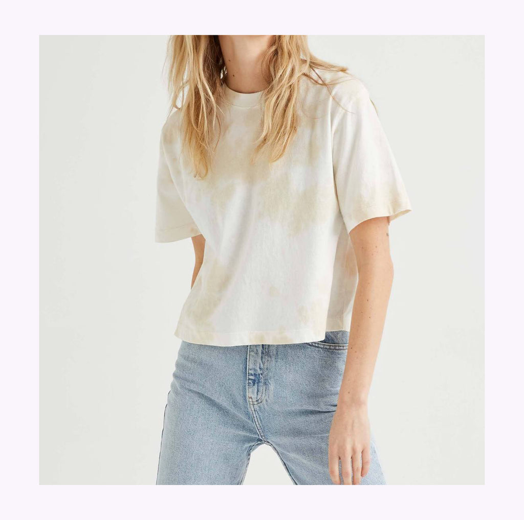 "Crop top ""Washed Out"""
