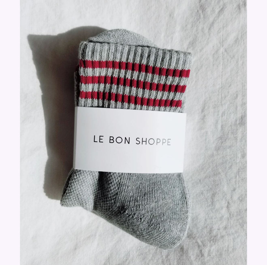 "Chaussettes ""Girlfriend - Heather Grey"""