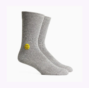 "Chaussettes ""Lucky""grises"