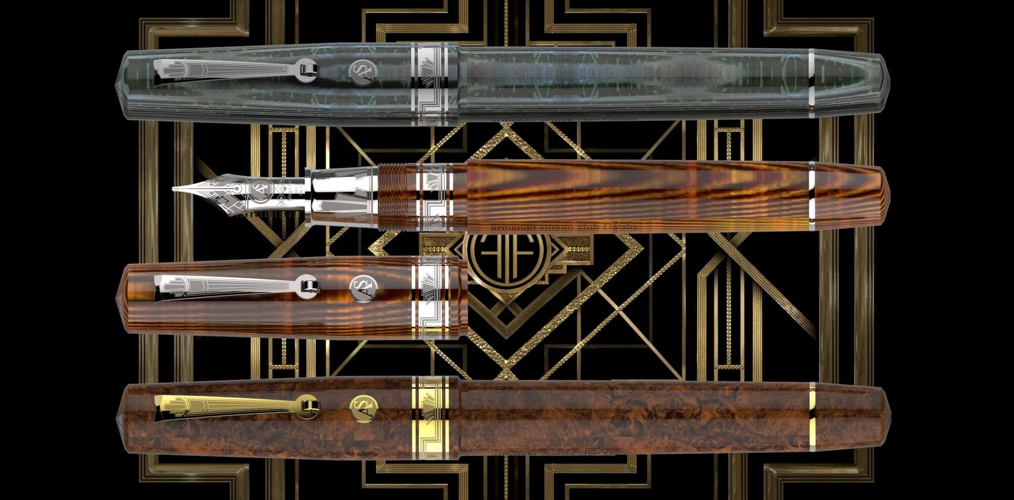 THREE KINGS LIMITED EDITION SET - PEN OPULENCE
