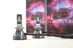 S V.4 - LED Headlight / Fog-Light Bulbs
