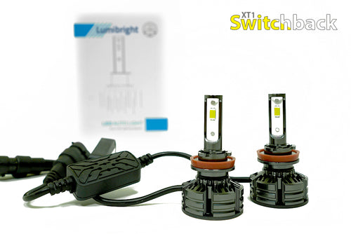 Lumibright Switchback White/Yellow - LED Headlight/Fog Light Bulbs