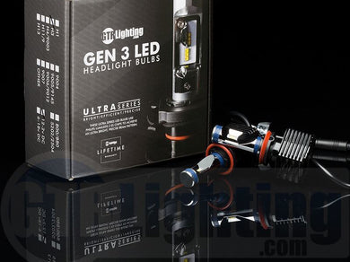 GTR Lighting Ultra Series 3rd Gen - LED Headlight Bulbs