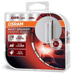 OSRAM Night Breaker Unlimited - HID/Xenon Replacement Bulbs
