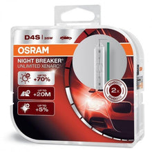 Load image into Gallery viewer, OSRAM Night Breaker Unlimited - HID/Xenon Replacement Bulbs