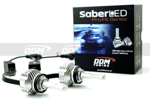 DDM Tuning SaberLED 40W Pro Fit - LED Headlight / Fog-Light Bulbs