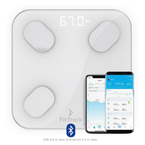 SMART BLUETOOTH BMI KÖRPERFETT SMART DIGITAL SCALE W / APP