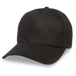 Black - Structured Baseball Cap
