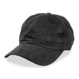 Black - Unstructured Baseball Cap