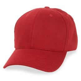 Cardinal Red Wool - Structured Baseball Cap
