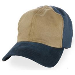 Dark Khaki with Blue Partial Coolnit - Unstructured Baseball Cap
