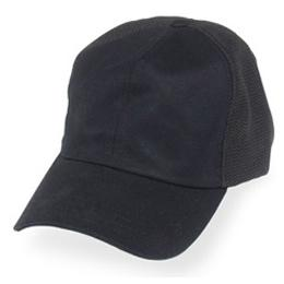 Black Partial Coolnit - Unstructured Baseball Cap