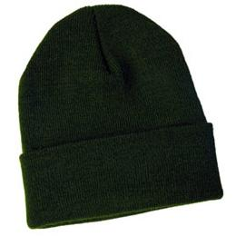 Dark Green Knit Hat