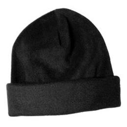 Black Comfort Fleece Hat