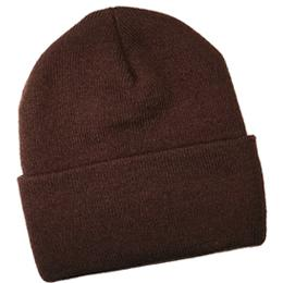 Brown Knit Hat