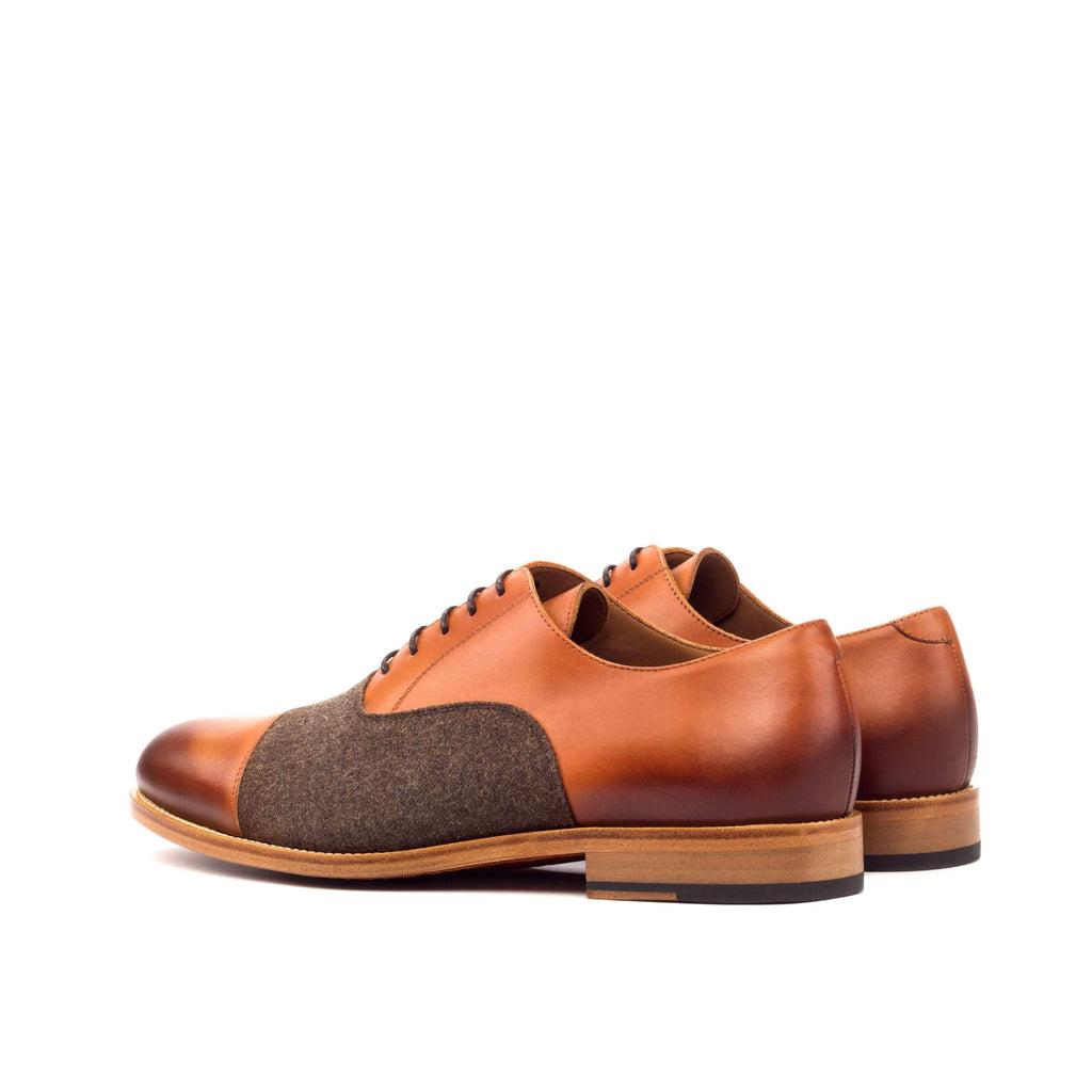 DeBonair Suave BROWN OXFORDS