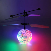 Load image into Gallery viewer, Disco Light - Infrared Induction Rc Flying Helicopter