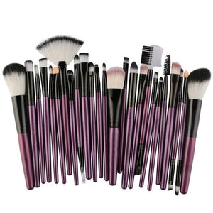 Makeup Brushes - 25Pcs Beauty Set (More Colours)