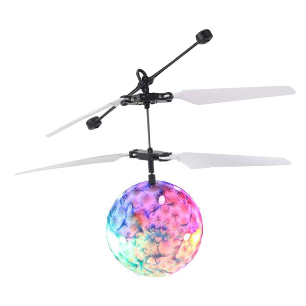 Disco Light - Infrared Induction Rc Flying Helicopter