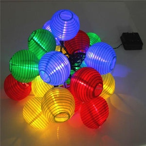 Festive Lights - Solar Led Beautiful Lantern (4 Colours ) - Solar