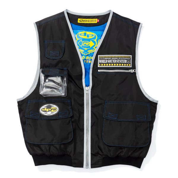 black sony walkman vest