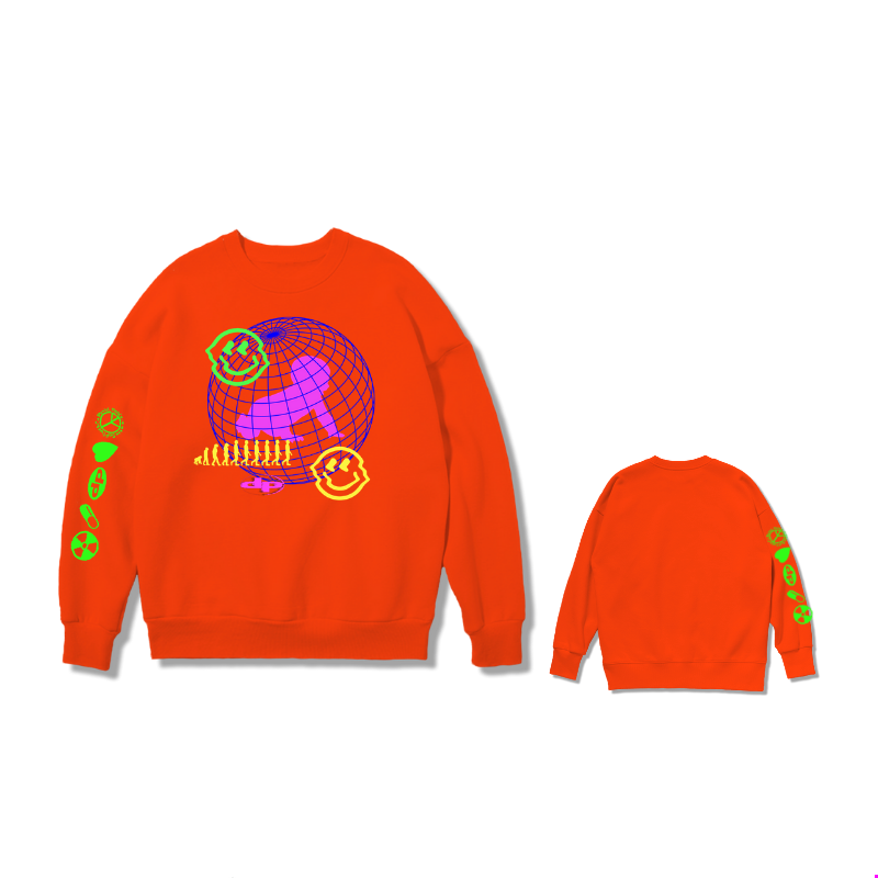 Orange Sweat Shirt