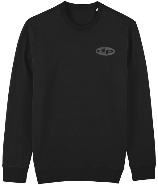 embroidered logo heavy sweat