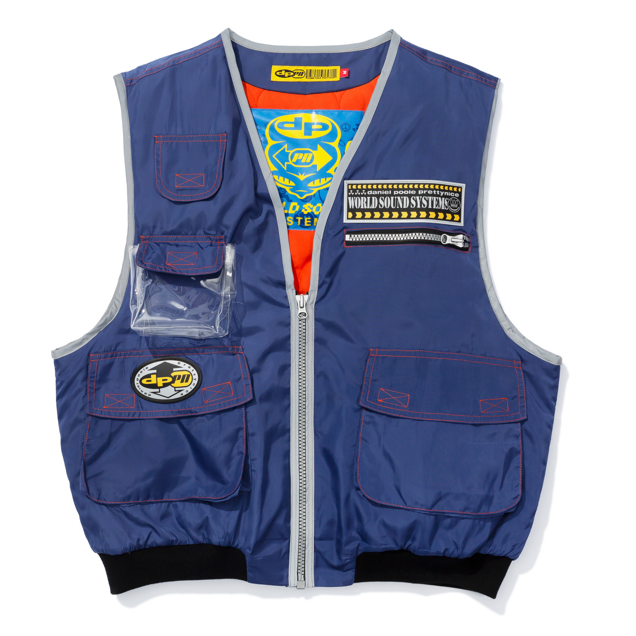 Navy Sony Walkman Vest