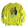 Collectors  Long Sleeve Fluro Yellow Jersey T shirt