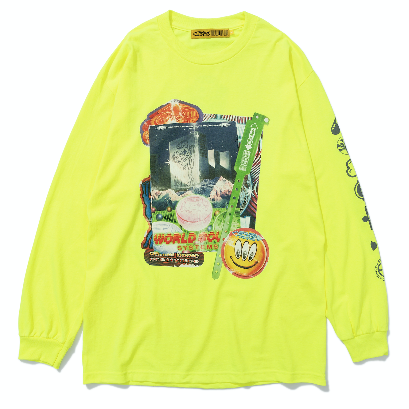 World Sound Systems Long-Sleeve Safety Yellow