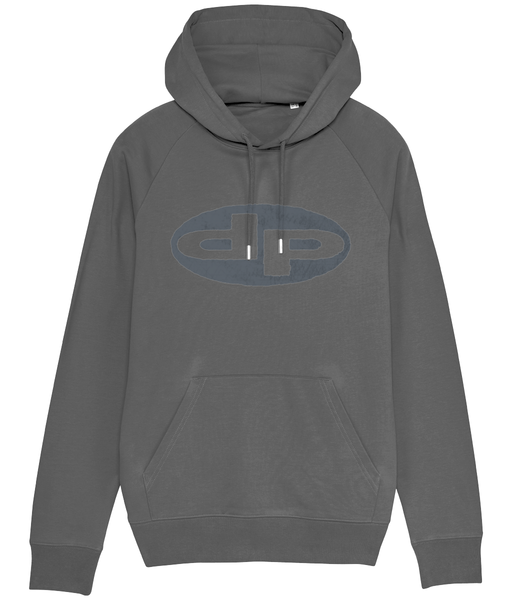 vintage logo hoodie optical back