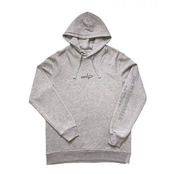 Grey 'DP Monster' Hoodie