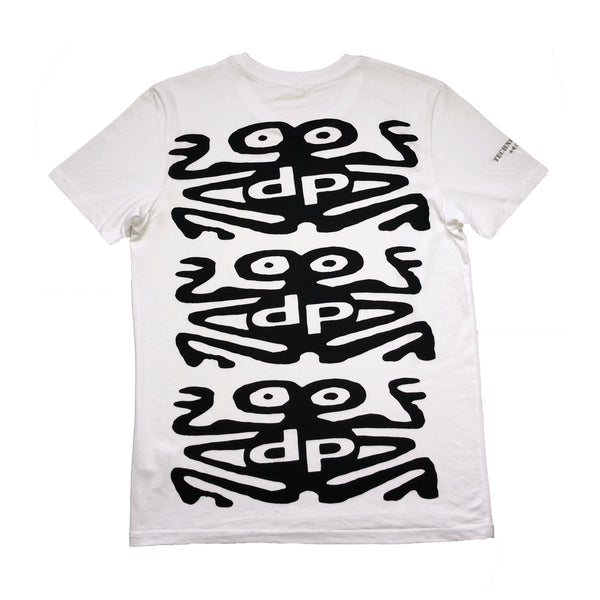 White 'DP Monster' T-shirt