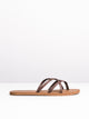 WOMENS NEW SCHOOL BROWN SANDALS