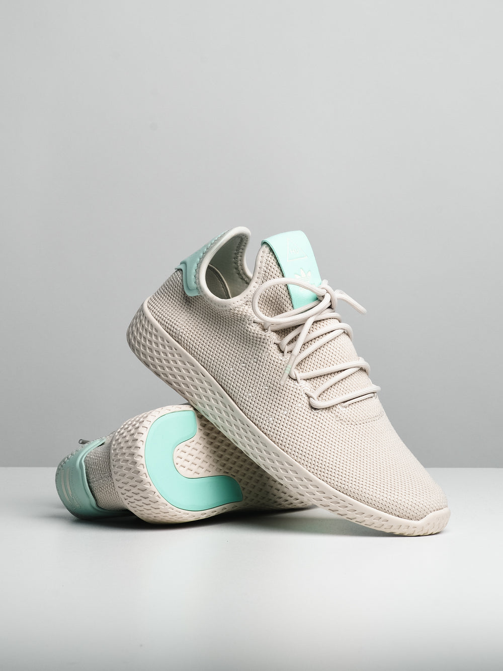 WOMENS PW TENNIS HU W - TALC/CHALK