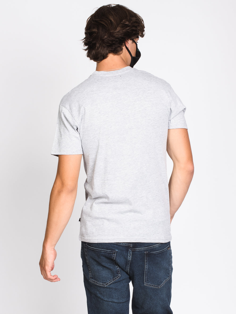 MENS JUST THE TIP SHORT SLEEVE T-SHIRT - HTHR GRY