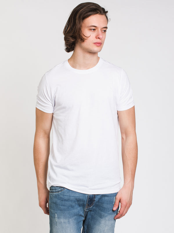 MENS VICTOR CREWNECK T-SHIRT- WHITE