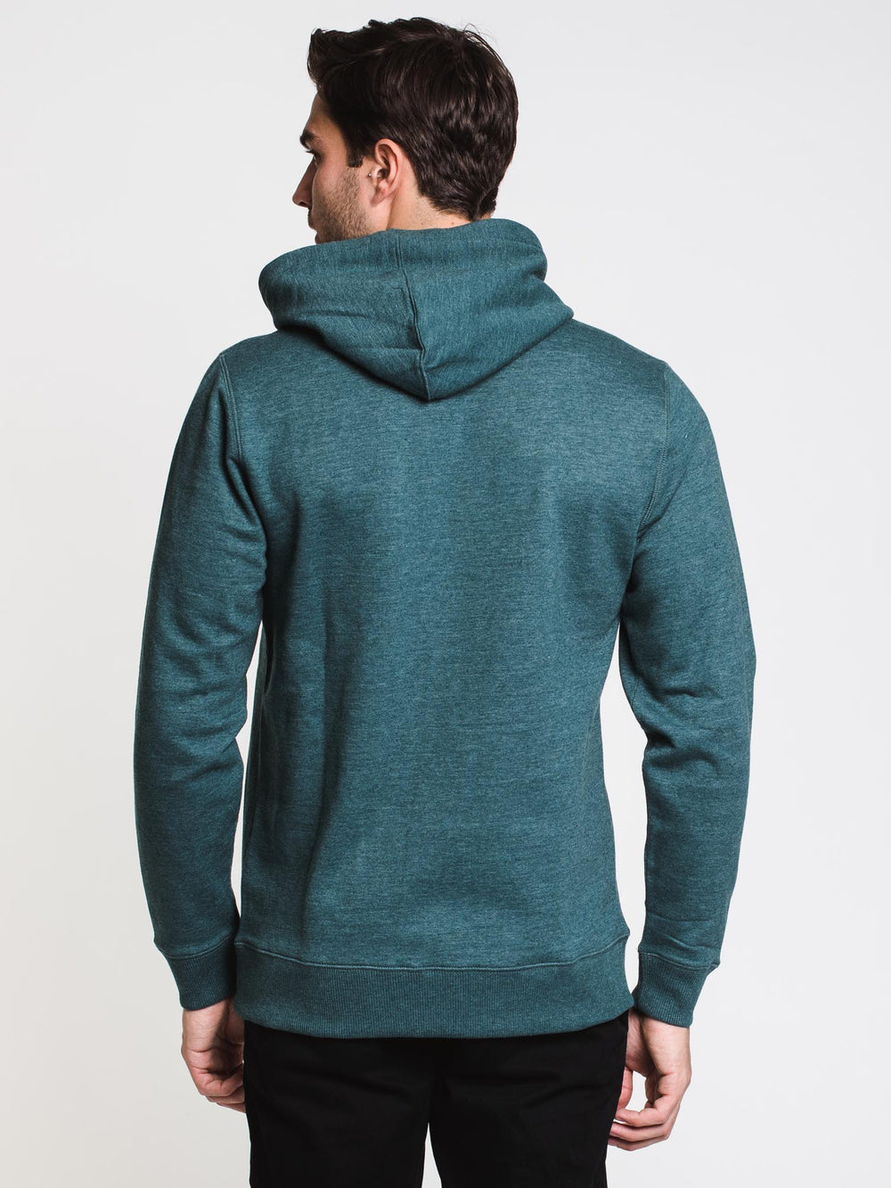 MENS ALL DAY PULLOVER HOODIE - HTHR TEAL